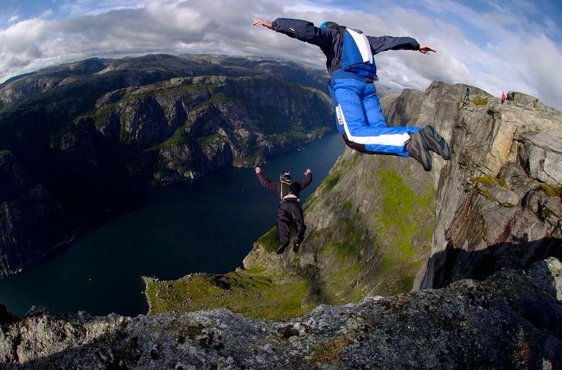 Origin of Base Jumping